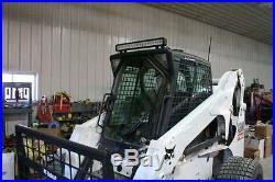 1/2 LX665 New Holland Extreme Lexan Door plus Sides! Skid steer loader glass