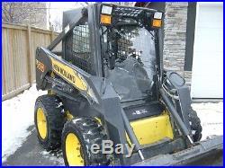 1/2 New Holland DEMOLITION Lexan Door plus Cab enclosure. Skid steer loader