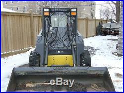 1/2 New Holland LEXAN Lx885 Skid Steer door and sides. Cab Aftermarket. Loader