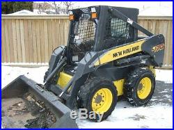 1/2 New holland L160 L180 to L190 Skid Steer door and sides. INDESTRUCTABLE