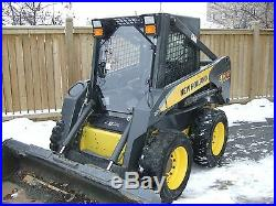 1/2 New holland LX 565 to LX 865 Skid steer Unbreakable Lexan Door and sides