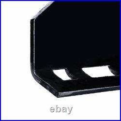 1/2 Skidsteer Quick Tach Attachment Mount Plate for Kubota Bobcat Trailer Steel