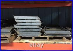 1/4 Universal Skid Steer quick attach plate bobcat kubota cat case new holland