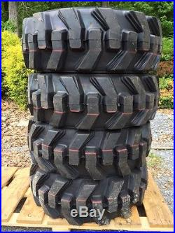 10-16.5 Foam Filled Ultra Guard Skid Steer Tires/wheels/rims for New Holland