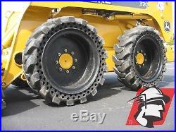 10x16.5 Solid Skid Steer Tires NEW HOLLAND L160, L170, L215, L218, L350, L565