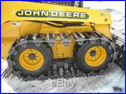 14 Over the Tire Steel Skid Steer Tracks for NEW HOLLAND LS190 & OTHERS