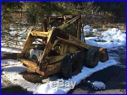 1974 New Holland L35 Skidsteer Skid Steer Loader Parts/Repair Wisconsin V4D GAS