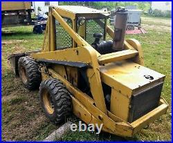 1982 New Holland L779 Skid Steer Loader Perkins Diesel Bobcat