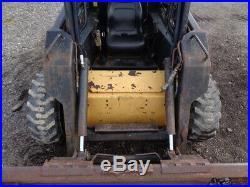 1997 New Holland LX665 Skid Steer Loader, OROPS, Sticks/Pedals, 50HP Diesel