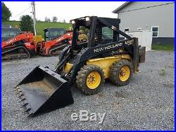 1998 New Holland LX665 Skid Steer Loader Diesel Construction Farm Machine OROPS