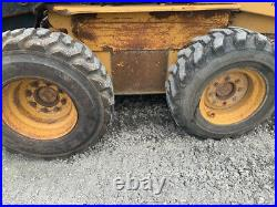 1998 New Holland LX885 Skid Steer Loader with Cab NO DOOR CHEAP