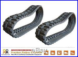 2 Pc Rubber Track 450x86x55 New Holland C180 skid steer