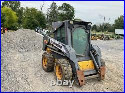 2000 New Holland LS160 Skid Steer Loader with Cab PLEASE READ DESCRIPTION