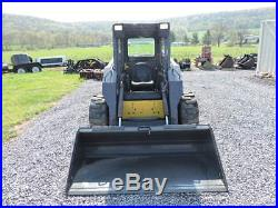 2001 New Holland LS180 Rubber Tire Skid Steer Loader 2 Speed Turbo Aux Hyds Nice