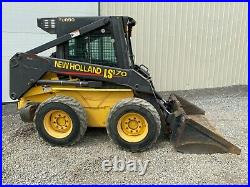 2002 New Holland Ls170 Skid Steer, Erops, Aux Hyd, Pre-emissions, Hvac, 1933 Hrs
