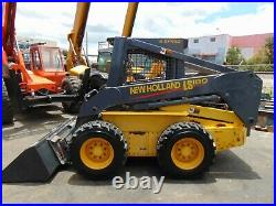 2002 New Holland Ls180 Turbo 2 Speed Super Boom Simple Controls Low Hours