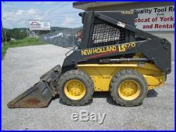 2003 New Holland LS170 Skid Steer Loader, 626 Hours! , 52 HP, Shed Kept, 1 Owner