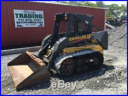 2003 New Holland LS170 Track Skid Steer Loader with Only 1400Hrs & Tires & Wheels