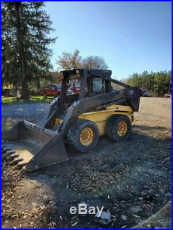 2003 New Holland LS180 Skid Steer Loader with 2 Speed Only 1600 Hours