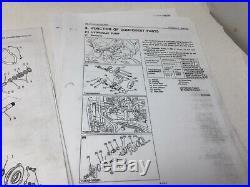 2003 New Holland Ls160 Ls170 Skid Steer Service Manual Dn102 Complete In Binder
