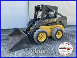 2003 New Holland Ls170 Skid Steer, Orops, Aux Hyd, 1195 Hrs, 52 HP Pre-emissions