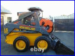2004 Classic New Holland Ls-150 Super Boom Skid Steer Wheel Loader