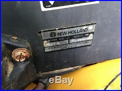 2004 New Holland LS170 Skid Stee Loader with Cab Rubber Tracks One Owner 1400Hrs