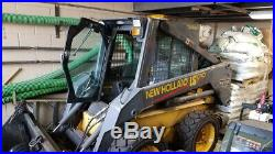 2004 New Holland LS170 Skid Steer Loader with Cab Clean One Owner Only 2600 Hrs