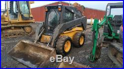 2004 New Holland LS180 Skid Steer Loader with Cab 2 Speed Only 2400Hrs