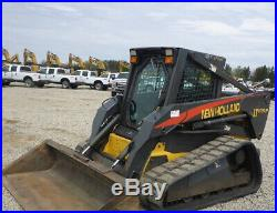2005 New Holland LT185. B Compact Track Skid Steer Loader with Cab & 2 Speed