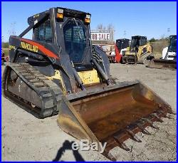 2005 New Holland LT185B Compact Track Loader EROPS Heat/AC High Flow Hydraulics