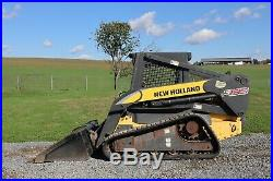 2006 NEW HOLLAND C185, OROPS, Hydraulic Quick Attach, 2 Speed, 84 Bucket
