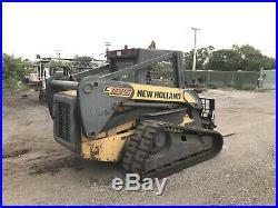 2006 New Holland C185 Skid Steer High Flow Super Boom Rubber Tracks