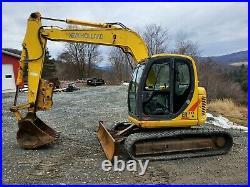 2006 New Holland Eh70 Sr Excavator Manual Thumb Same As Kobelco 17k Lb Cab Heat