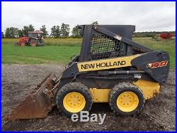2006 New Holland L160 Skid Steer, OROPS, NEW TIRES, 2,692 Hours