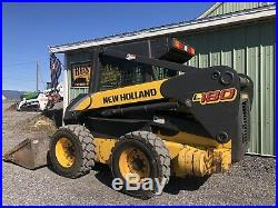 2006 New Holland L180 Skid Steer Loader Heat Only 2767 Hours Cheap Shipping