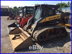 2006 New Holland L185 Compact Track Skid Steer Loader with Cab Only 1100Hrs