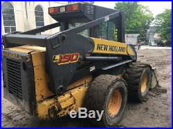 2006 New Holland L190 Skid Steer Loader with Cab 2Spd High Flow Coming Soon