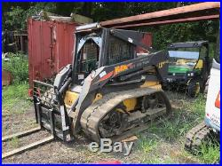 2006 New Holland LS180. B Compact Track Skid Steer Loader Cab 2Spd Only 1000Hrs