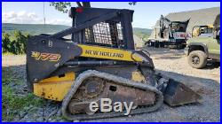 2007 New Holland C175 Compact Track Skid Steer Loader with 2 Speed Only 2500Hrs