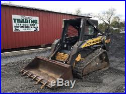 2008 New Holland C175 Compact Track Skid Steer Loader Pilot Controls Only 800Hrs