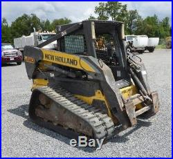 2008 New Holland C190 Tracked Skid Steer Loader with High Flow