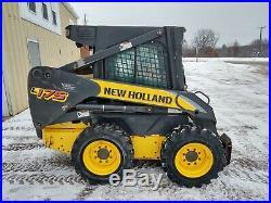 2009 New Holland L175 Diesel Skid Steer LOADED