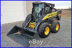 2009 New Holland L185 High Flow-Enclosed Cab/Heat/AC-2-Speed