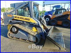 2010 New Holland C-175 Turbo High Flow Track Loader Enclosed Air Conditioned