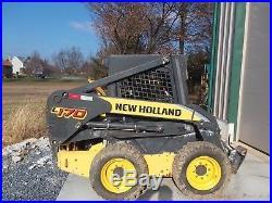2010 New Holland L170 Skidsteer Loader