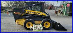 2010 New Holland L180 Skidloader. 1480 Hours! Cab WithHeat! New Tires And Rims