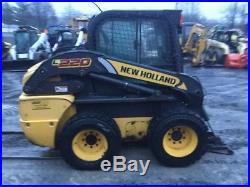 2011 New Holland L220 Skid Steer Loader with Cab NEEDS ENGINE WORK