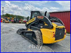2012 New Holland C238 Compact Track Skid Steer Loader with Cab 2Spd Only 2200Hrs