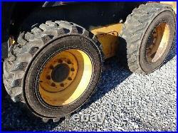 2012 New Holland L220 Skid Steer, Erops, Heat/ac, 2 Spd, Aux Hyd, Radio, 633 Hrs
